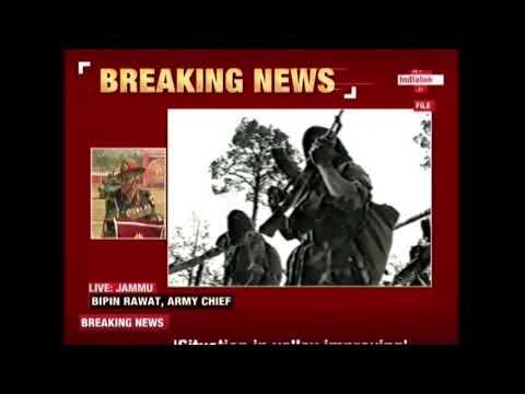 Army Chief, Bipin Rawat Says Radicalisation Happening In Jammu & Kashmir