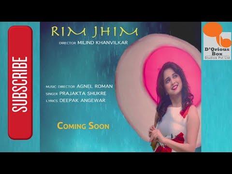 Official Song Teaser - Rim Jhim - Prajakta Shukre & Agnel Roman   New Marathi Song 2017