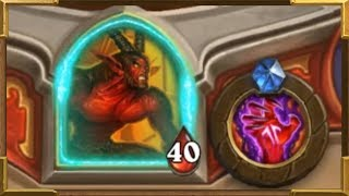 HearthstoneHERO CPermanent  Mmune HeroCuratorNightbaneTerestian Liihoof One Night In Karazhan