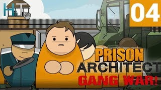 Prison Architect Gang War - Ep 04 - New Names, Same Chaos - Gameplay / Let