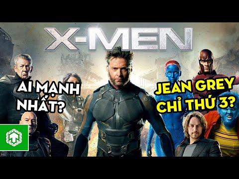 TOP 10 DỊ NHÂN Mạnh Nhất Marvel - Jean Grey Chỉ Đứng Thứ 3??!!