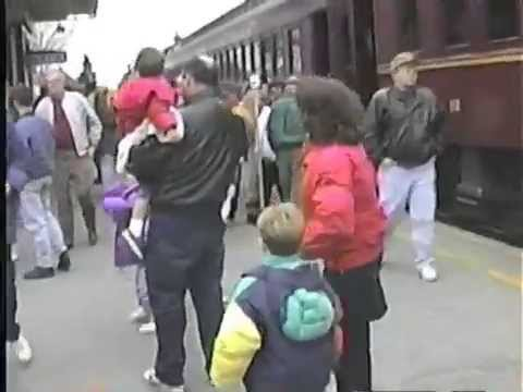 Strasburg Railroad Lancaster County Pennsylvania vintage 1993 video