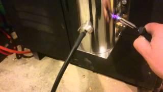 Dymbox, wędzarnia w piwnicy podłączona do komina SMOKE