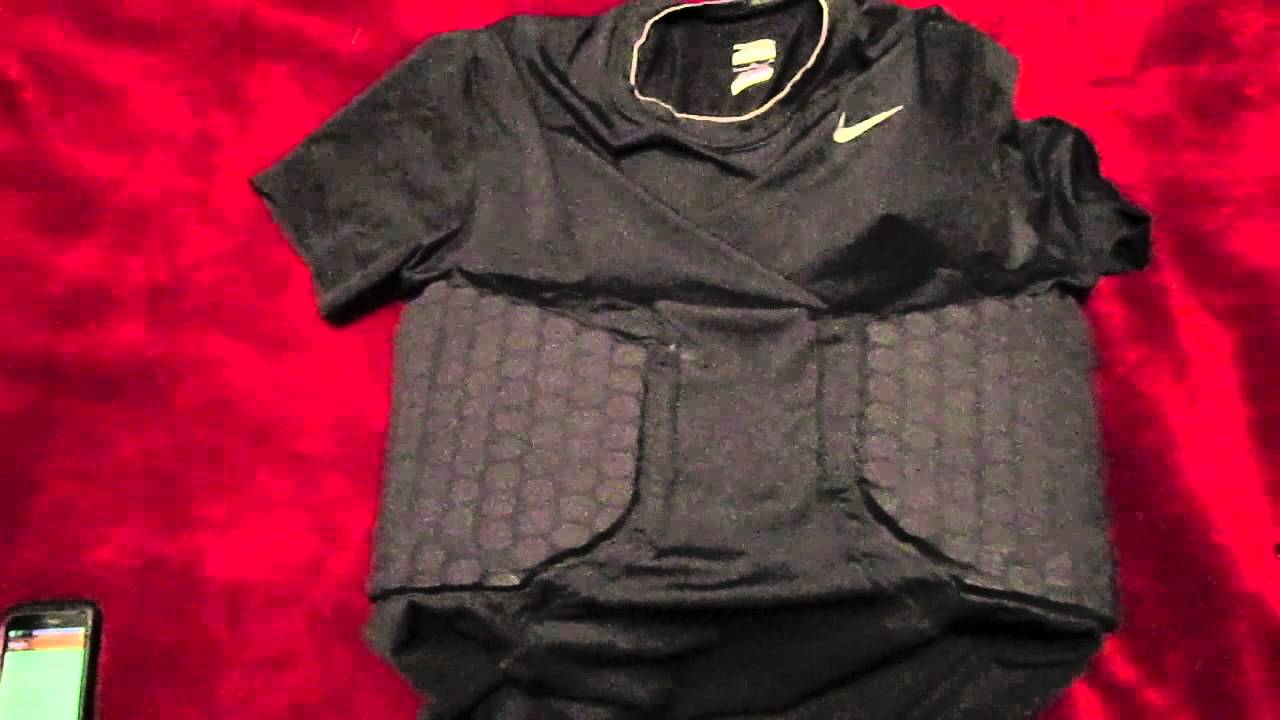 60482c84 Ep. 20: Nike Pro Combat Padded Compression Shirt Review - YouTube