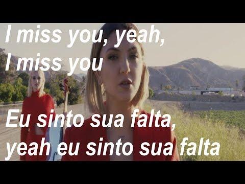 Clean Bandit - I Miss You feat Julia Michaels Tradução e letra