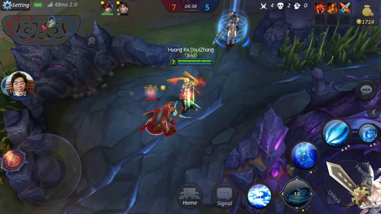Legendary-5v5 MOBA game | Sword Dancer - Zhang Jiao