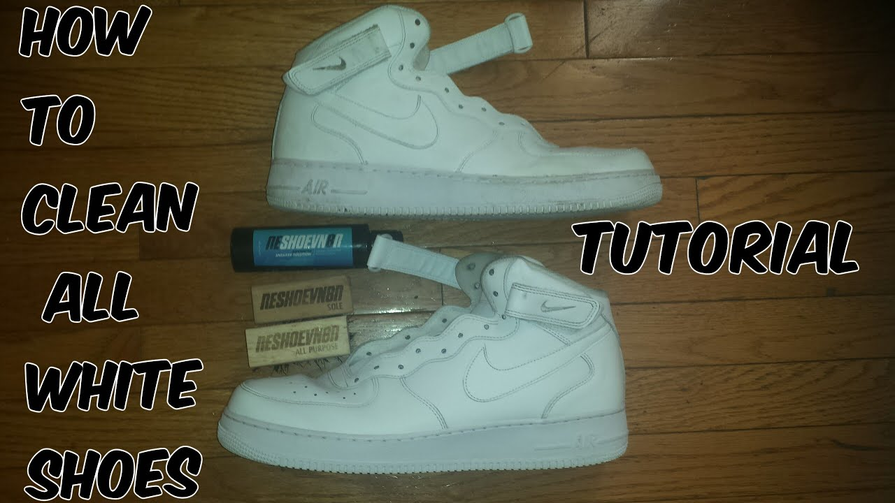 how to clean nike air force 1 inside