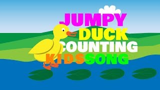 Jumpy Duck Counting Kids Song | Kids Music | Kids Dance