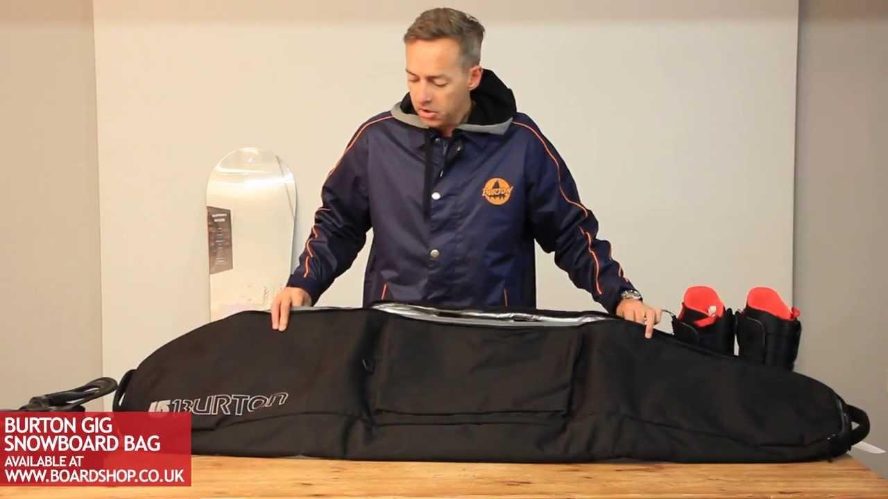 8fa24347ec Burton Gig snowboard bag review - YouTube
