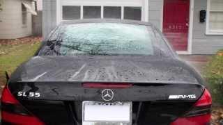 HOW to fix leaking trunk leak R230 SL55 SL65 SL500 SL Mercedes part 3