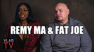 "Remy Ma & Fat Joe Talk Ending Beef, Success of ""All The Way Up"""
