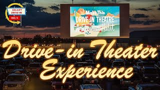 Drive-in Movie Theater Experience | Social Distancing | Galaxy Drive-In Movie Theater