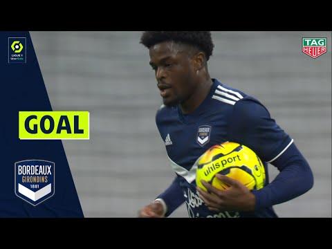 Goal Joshua MAJA 83' - FC GIRONDINS DE BORDEAUX - OLYMPIQUE DE MARSEILLE 3-1 20/21