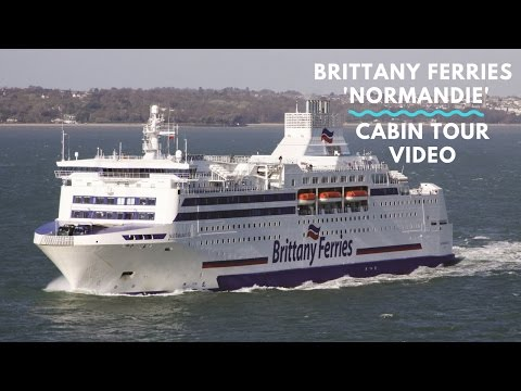 Cabin Tour of Brittany Ferries Portsmouth - Caen