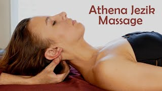Massage with Athena: Upper Body & Abdomen, Pure Relaxation Technique Tutorial, Sleep, Bodywork