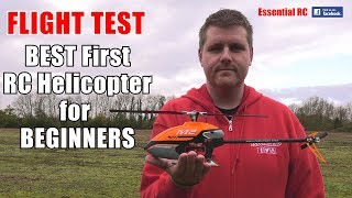 Gambar cover BEST FIRST radio controlled (RC) HELICOPTER for BEGINNERS ! OMPHOBBY M2 Flybarless RC Helicopter