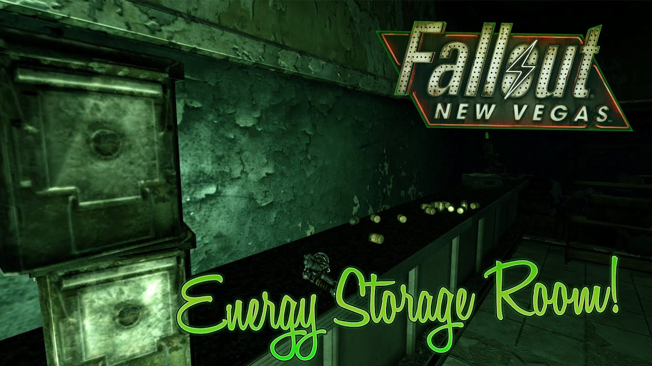 Fallout New Vegas ENERGY WEAPONS AND AMMO FOR FREE! // Storage Room  sc 1 st  YouTube & Fallout: New Vegas: ENERGY WEAPONS AND AMMO FOR FREE! // Storage ...