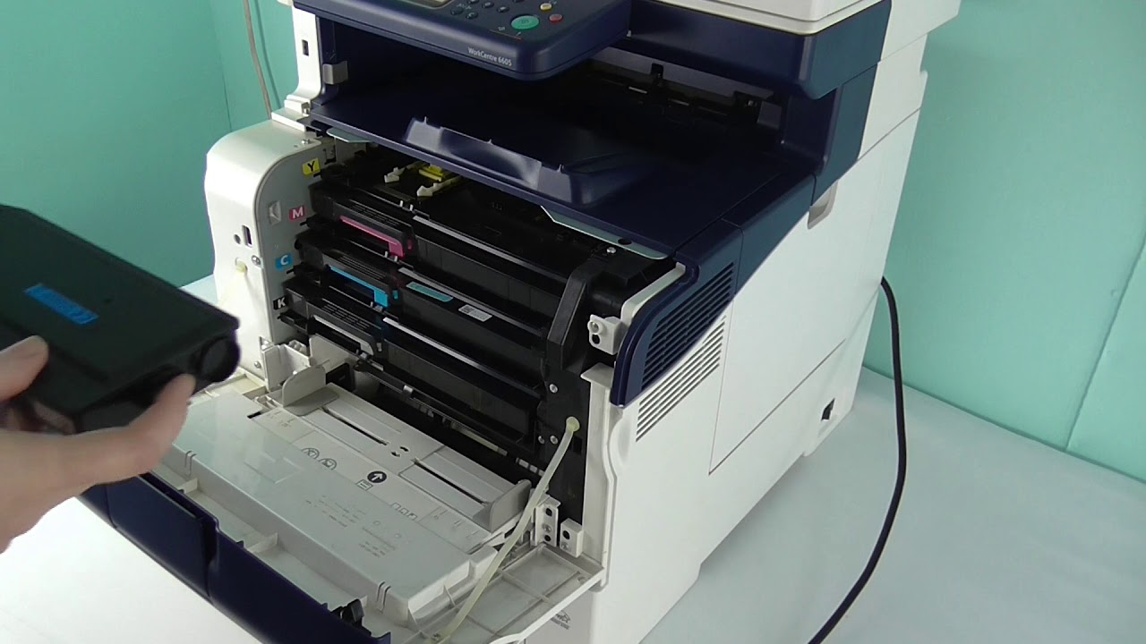 How To Change Access Toners On A Xerox Workcentre 6600 6605