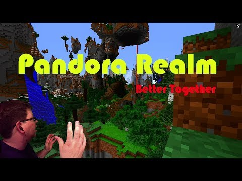 Minecraft Pandora Realm Now open! Members of Discord Only! Better Together 1.2.