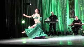 Paula, Miami Bellydance Convention Winner 2012