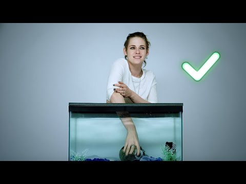 Can Kristen Stewart guess what's inside this Underwater-inspired mystery box?