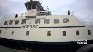 mand over bord agersø & omø færgerne