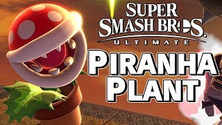 Piranha Plant is... Kind of an Echo Fighter? - Super Smash Bros. Ultimate – Aaronitmar