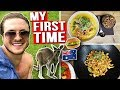 WHAT A VEGAN BODYBUILDER EATS IN AUSTRALIA (MY 1ST TIME)