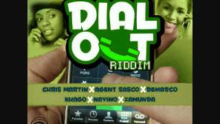 Instrumental/Version - Dial out riddim - dj frass rec. - april 2012 - khago, chis martin &others