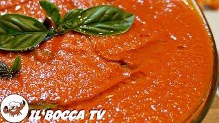 598 - Sugo di pomodoro.fin da bimbo io t'adoro (salsa facile fatta con passata di pomodori e pelati)