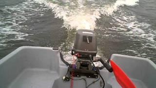 Basstender 11.3 Boat Speed Run
