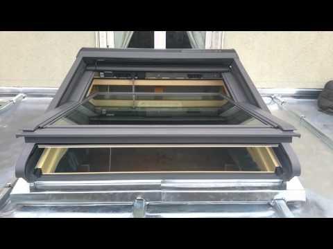 Velux installation kit de motorisation sur fen tre de toit doovi - Kit motorisation velux ...