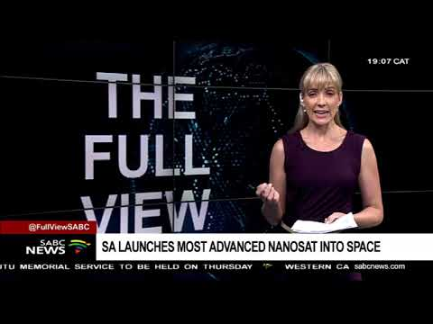 South Africa's nano-satellite ZACUBE-2 is orbiting Earth
