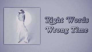 Carly Rae Jepsen - Right Words Wrong Time (Slow Version)