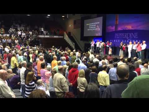 Hallal Singers at the Pepperdine Bible Lectures 2015