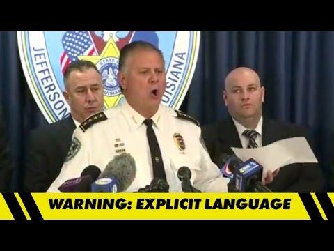 Joe McKnight Case -- Sheriff Drops N-Bomb, F-Bomb ... In Bizarre News Conference