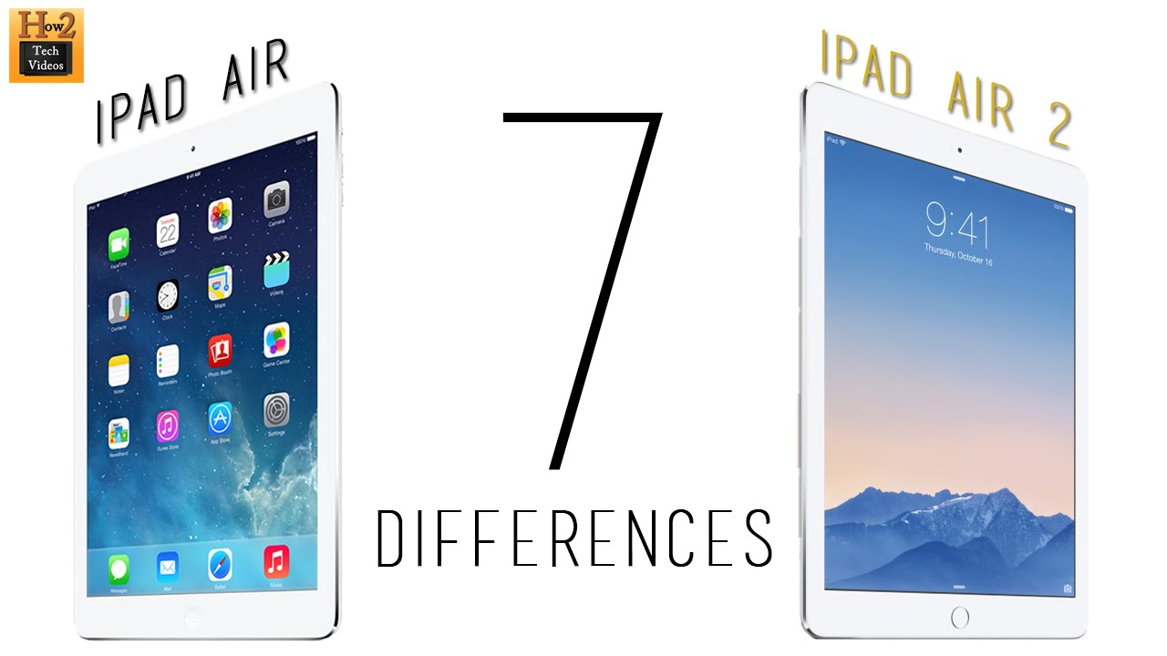 7 differences between the ipad air 1 ipad air 2 h2techvideos youtube - Difference entre conciliateur et mediateur ...