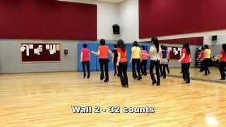 Trouble With My Baby - Line Dance (Dance & Teach in English & 中文)