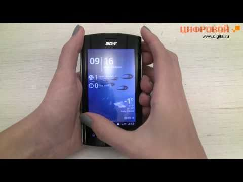 Видеообзор смартфона Acer Liquid Metal S120