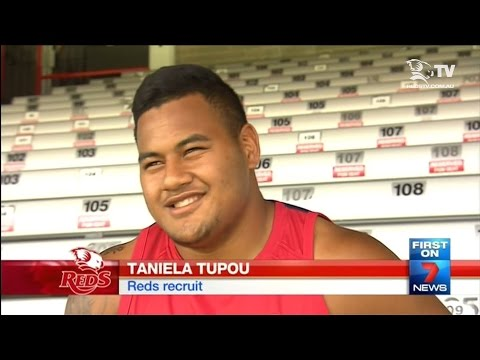 Taniela Tupou - Channel 7 feature
