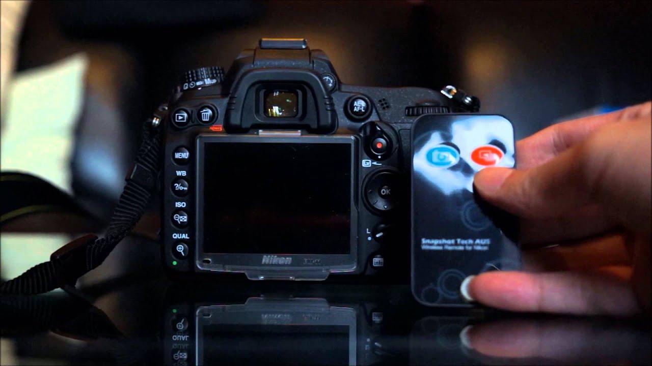 Remote Control With Burst Mode For Nikon D610 D7100 D600