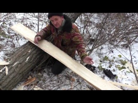 Как сделать лыжи для охоты своими руками
