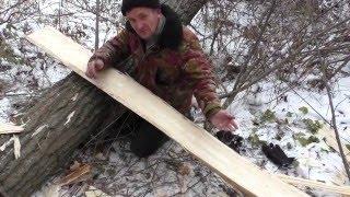как сделать охотничьи лыжи в домашних условиях