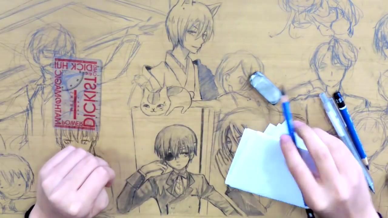 Illusdreamer Anime Desk Art
