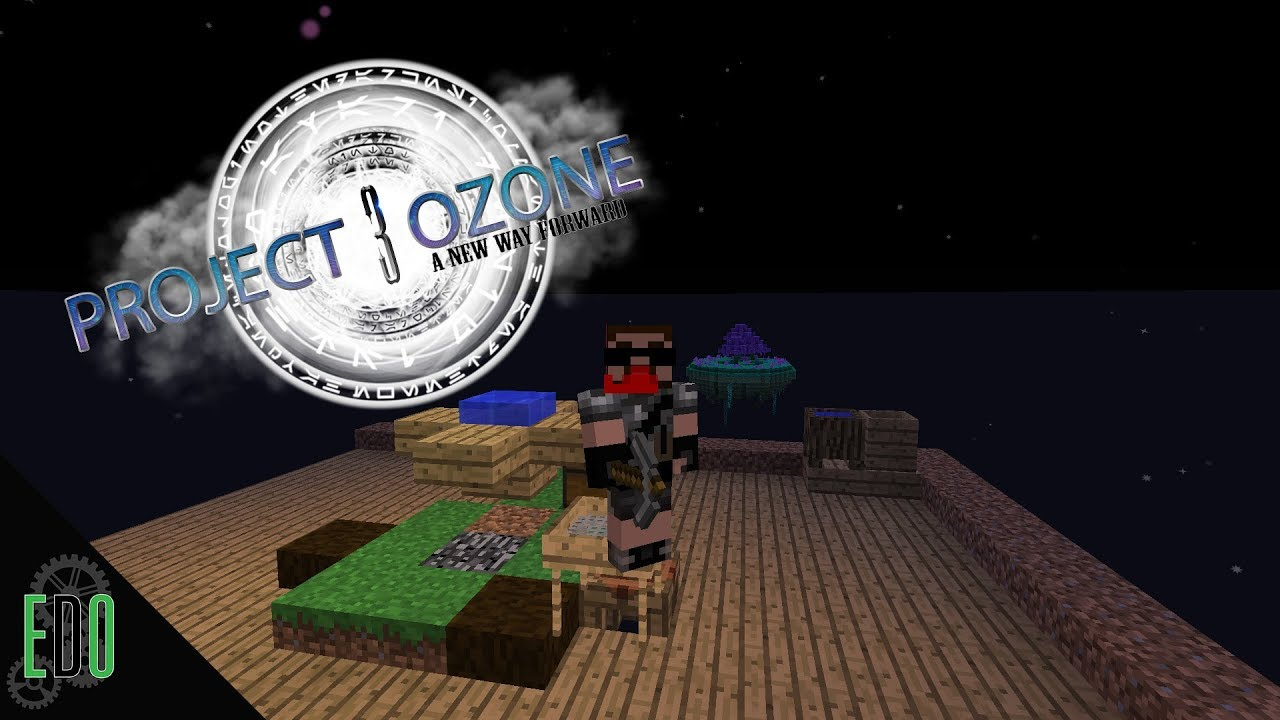 How To Make Project Ozone 3 Skyblock Server