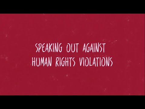 Speaking Out Against Human Rights Violations