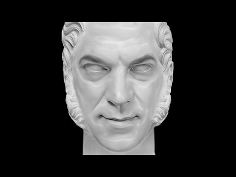 Photoshop Tutorial: How to Transform Yourself into a Marble, Sculpture Bust!