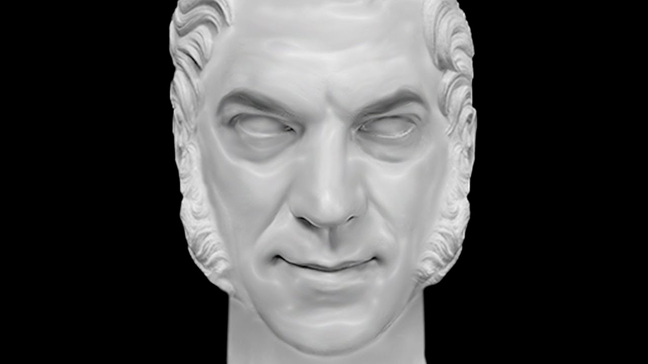 Photoshop Make A Marble Sculpture Bust From A Photo Youtube