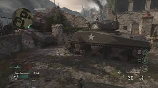 Call Of Duty WWII Monte Cassino Gameplay