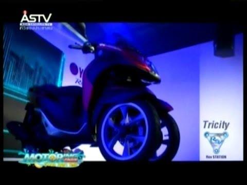 "2014/04/12 Motoring ONAIR ช่วงที่3 Test Ride ยามาฮ่าเปิดตัว3ล้อ ""ทริซิตี้"" โกลบอลโมเดลแรกในไทย"
